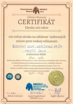 certifikat grizzly small